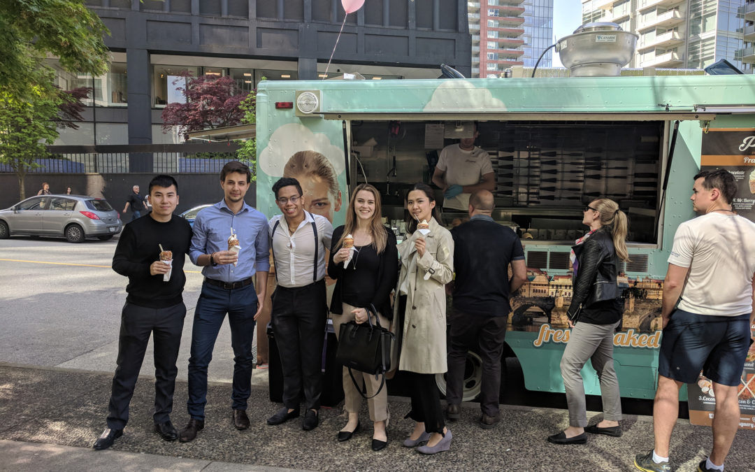 Here's where you can find The Praguery food truck this summer